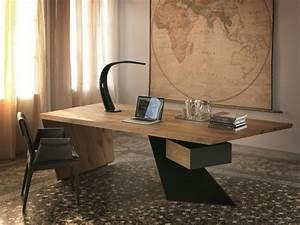 Bureau Moderne Design : bureau bois design 50 belles propositions ~ Teatrodelosmanantiales.com Idées de Décoration