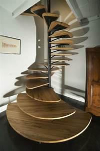 Escalier Bois Pas Cher : design d 39 escalier h lico dal ~ Premium-room.com Idées de Décoration