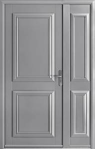 portes entree aluminium cobtsacom With porte d entrée alu avec quel parquet pour salle de bain