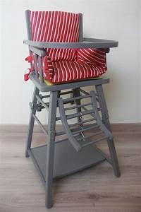 Chaise Haute Bébé Bois : chaise haute en bois vintage pour poup e jeux jouets ~ Melissatoandfro.com Idées de Décoration