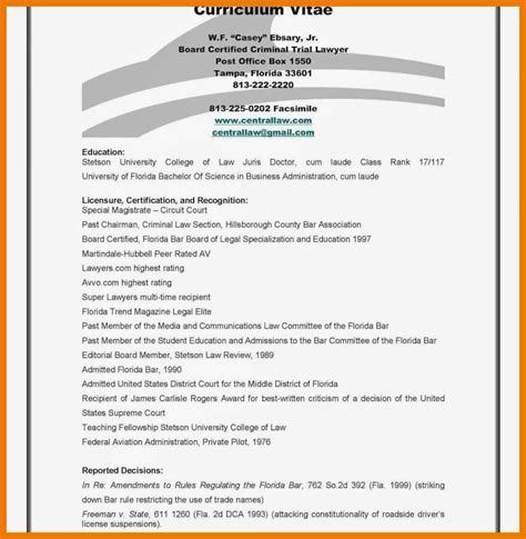 Personal Qualification by 7 8 Personal Qualifications Statement Sle