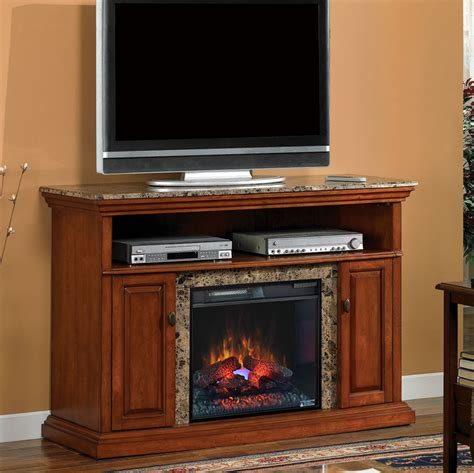 electric fireplace media cabinet brighton 23 quot golden honey media console electric fireplace