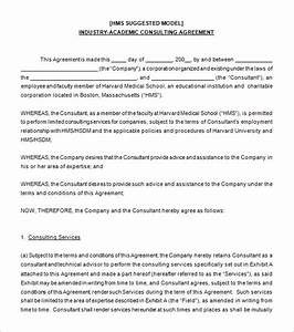 10 consulting contract templates pdf doc free for Consultation agreement template