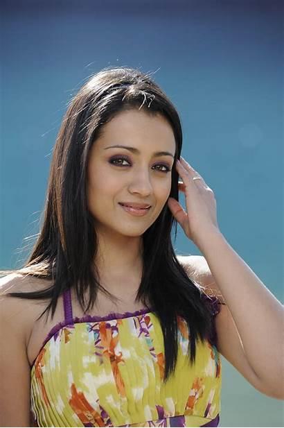 Trisha Latest Stills Saree Krishnan Actress Modern