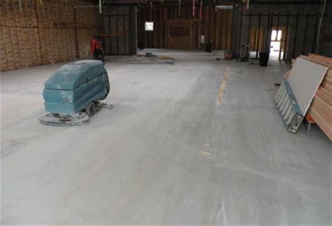 Concrete Surface Prep   Mastic Removal Contractor