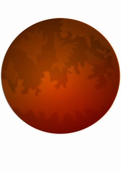 Mars Clip Marte Clipart Clear Onlinelabels Transparent