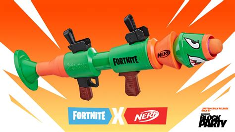 fortnite nerf rocket launcher   early limited