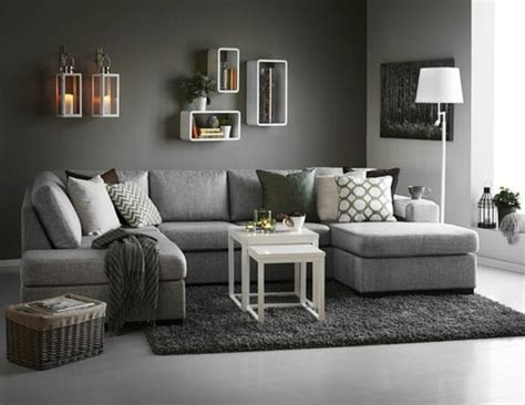 quel tapis avec canapé gris déco salon gris 88 idées pleines de charme