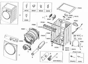 Cabinet Parts Diagram  U0026 Parts List For Model Dv448agw