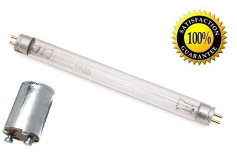 replacement uv light bulb and starter for fresh air by