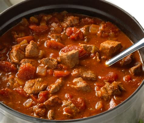 chunky beef chili recipesinstantpotcom