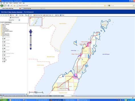door county tax records help dc web map
