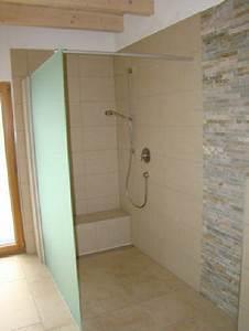 Kleines Bad Begehbare Dusche Raum Und Mbeldesign