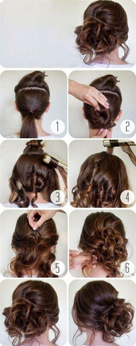 ideen fuer schoene haarfrisuren  anleitungen zum