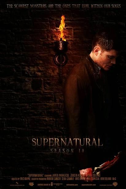 Supernatural Season Poster Fan Dean Posters Spn