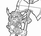 Skylanders Pages Coloring Bushwhack Coloringpagesonly sketch template
