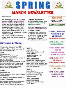 daycare newsletter new calendar template site With childcare newsletter templates