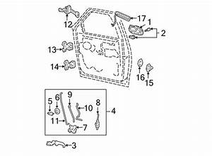Ford Expedition Door Lock Operating Rod  Outside Handle