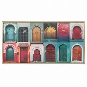 Tableau Maison Du Monde : tableau portes 48 x 95 cm gypset maisons du monde ~ Teatrodelosmanantiales.com Idées de Décoration