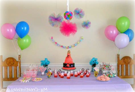 Simple Birthday Decorations, Photos Of Ideas In 2018