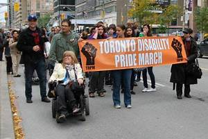 Third annual Toronto Disability Pride March | socialist.ca