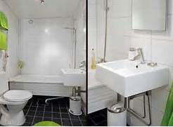 Charm Small Apartment Bathroom Interior Design Decorating Toilet Sink Combo Ideas That Help You Stay Green Lime Green White And Black Make A Sensual And Casual Color Scheme Bathroom Designs From Arlex