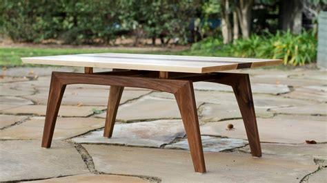 Building A Midcentury Modern Coffee Table  Shaun Boyd
