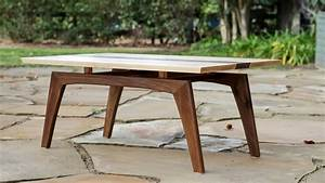 Building A Midcentury Modern Coffee Table