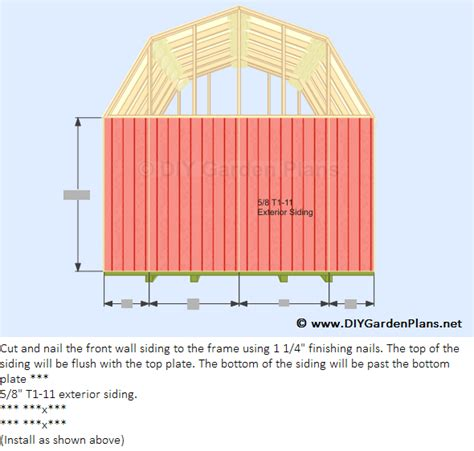 8 x 10 gambrel shed plans koras 8x8 barn shed plans