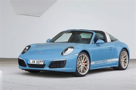 Www Porche by Porsche Exclusive Reveals 911 Targa 4s Design Edition
