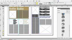 free magazine indesign templates youtube adobe indesign With adobe indesign newspaper templates free