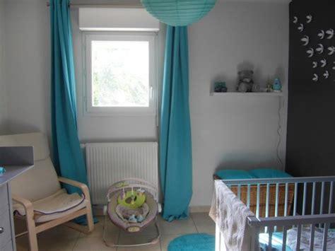 déco chambre bébé turquoise deco chambre bebe gris et turquoise visuel 2