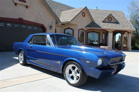 ford mustang restomod coupe   california car