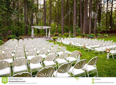 outdoor natural wedding venue  oregon stock photo