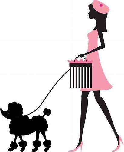 Paris Clipart Barbie Silhouette Profile Clip Poodle