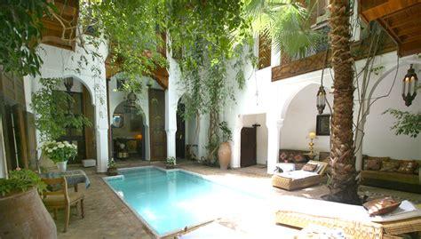 chambre d hote au maroc riad marrakech avec piscine riadarilham