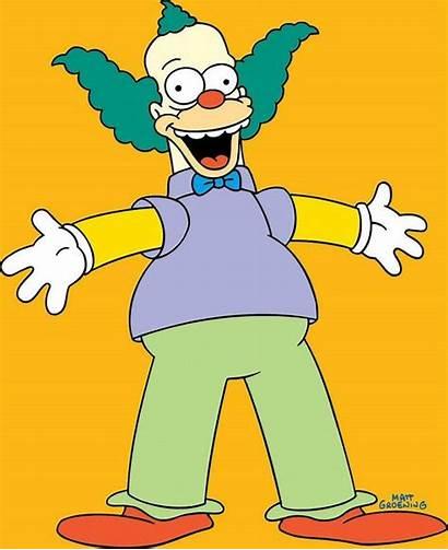 Simpsons Characters Clipart Clown Krusty Character Bob
