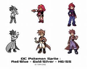 My Pokemon OC sprites by Tomycase on DeviantArt