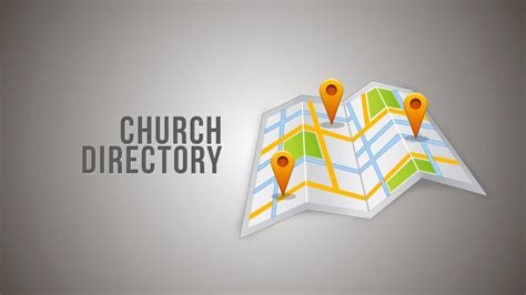 church directory be included in our church directory