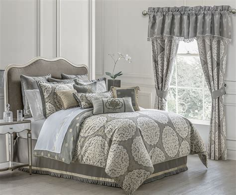 Darcy Pewter By Waterford Luxury Bedding
