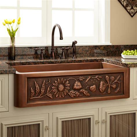 farmhouse style kitchen sink copper farmhouse kitchen sink quicua com