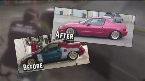 rubber paint sprucing  cars  fraction  paint job