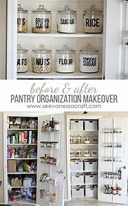 Small pantry organization makeover before after for Small pantry organization pinterest