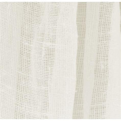 viola ivory plain sheer linen oeko tex fabric