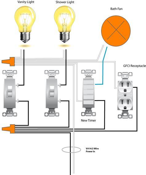 Replacing Bath Fan Switch Electronic Timing Device