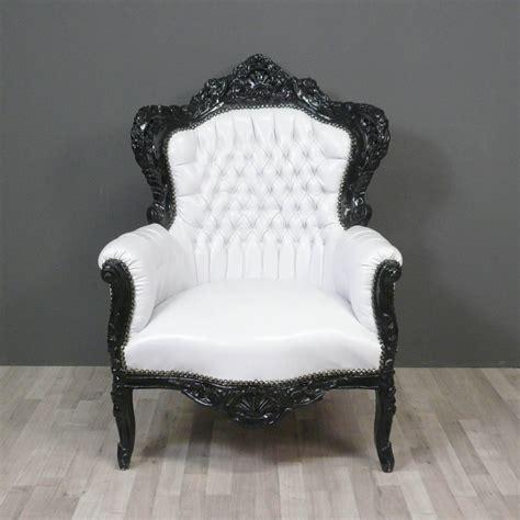 chambre baroque noir et blanc baroque armchair chairs