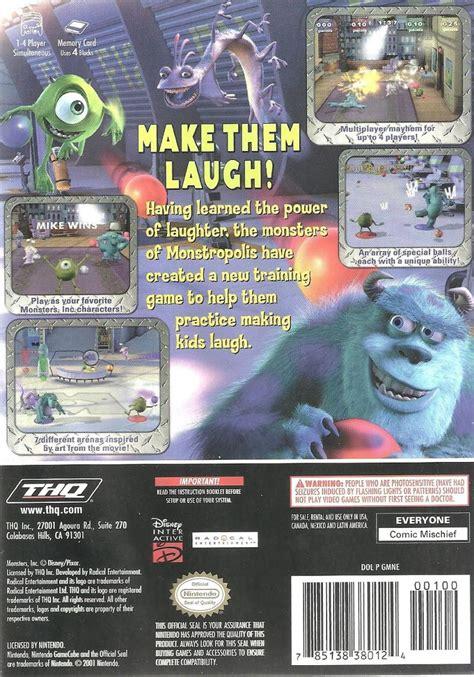 monsters  scream arena gamecube retrogameage