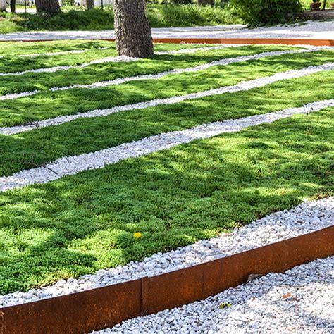 il giardino di corten bordure giardino in corten