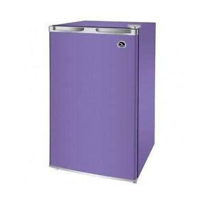 compact beverage refrigerator purple mini fridge freezer