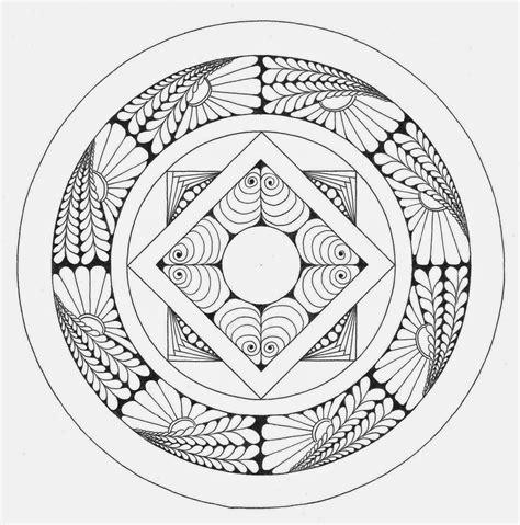 Spirituele Kleurplaten by Mandala Atelier Mandala Kleurplaten En Templates 2014